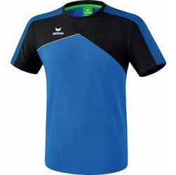 Erima Premium One 2.0 T-Shirt Heren - New Royal / Zwart / Wit