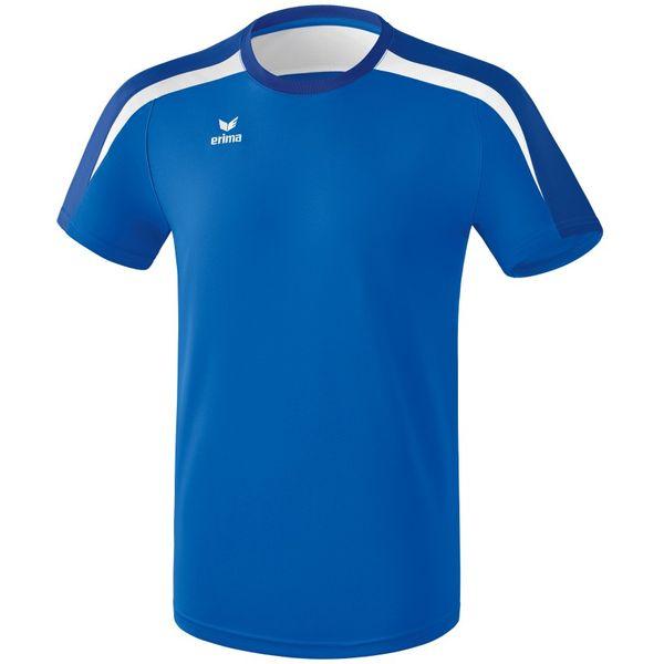 Erima Liga 2.0 T-Shirt Kinderen - New Royal / True Blue / Wit