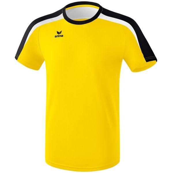 Erima Liga 2.0 T-Shirt Kinderen - Geel / Zwart / Wit