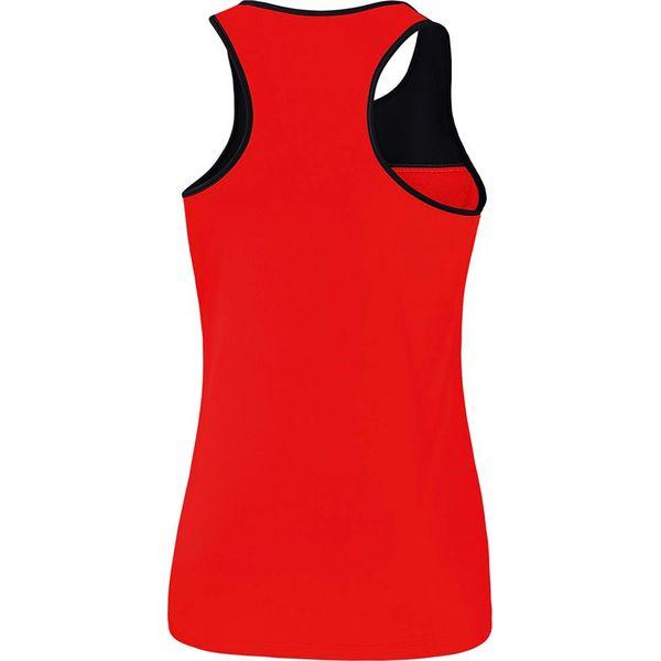 Erima 5-C Tanktop Dames - Rood / Zwart / Wit