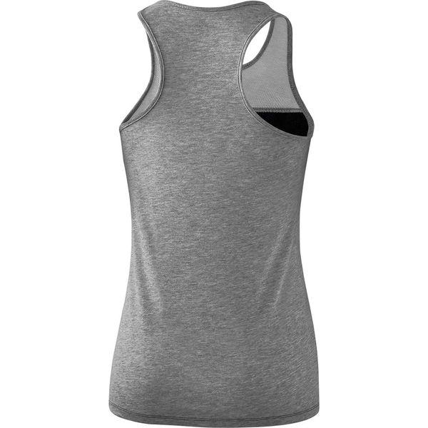 Erima 5-C Tanktop Dames - Zwart / Grey Melange / Wit