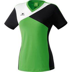 Erima Premium One T-Shirt Dames - Green / Zwart / Wit