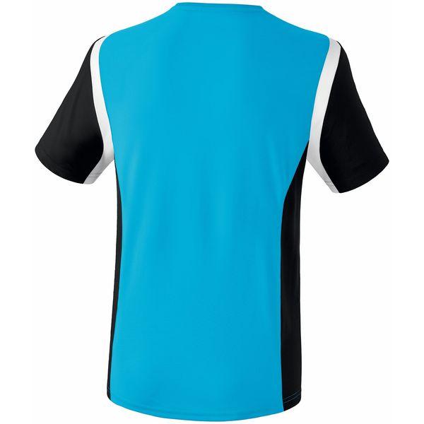 Erima Razor 2.0 T-Shirt Kinderen - Curaçao / Zwart / Wit