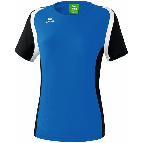 Erima Razor 2.0 T-Shirt Dames - New Royal / Zwart / Wit