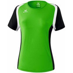 Erima Razor 2.0 T-Shirt Dames - Green / Zwart / Wit