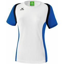 Erima Razor 2.0 T-Shirt Dames - Wit / New Royal / Zwart