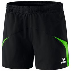 Erima Razor 2.0 Short Dames - Zwart / Green