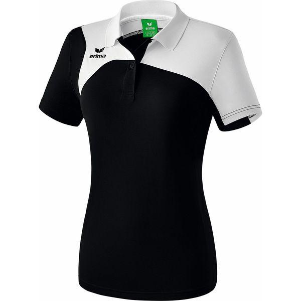 Erima Club 1900 2.0 Polo Dames - Zwart / Wit