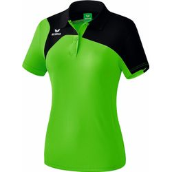 Erima Club 1900 2.0 Polo Dames - Green / Zwart