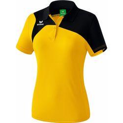 Erima Club 1900 2.0 Polo Dames - Geel / Zwart