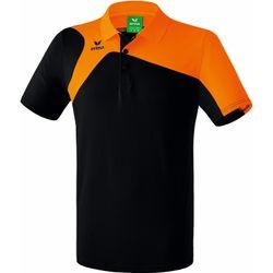 Voorvertoning: Erima Club 1900 2.0 Polo Kinderen - Zwart / Oranje