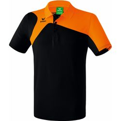 Erima Club 1900 2.0 Polo Hommes - Noir / Orange