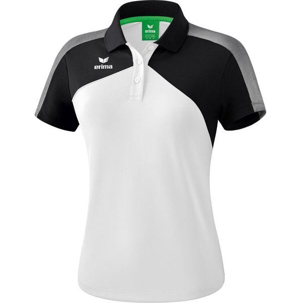 Erima Premium One 2.0 Polo Dames - Wit / Zwart