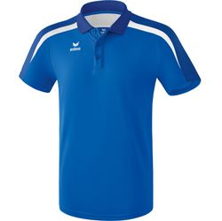 Erima Liga 2.0 Polo Heren - New Royal / True Blue / Wit