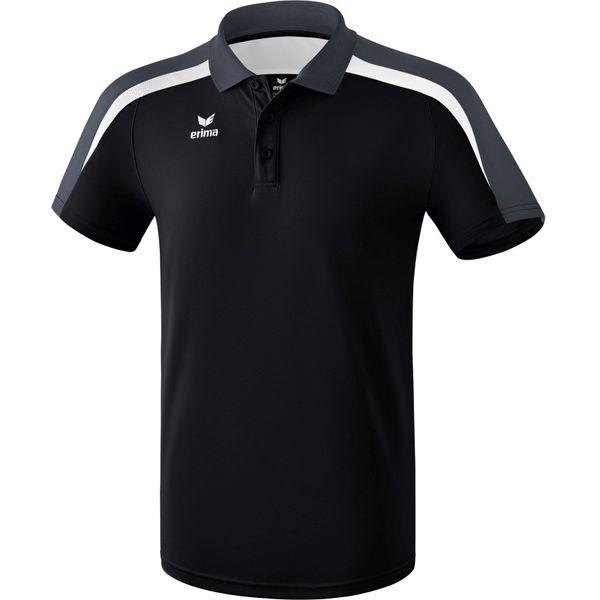 Erima Liga 2.0 Polo - Zwart / Wit / Donkergrijs