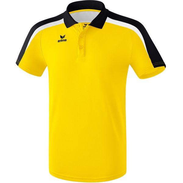 Erima Liga 2.0 Polo Kinderen - Geel / Zwart / Wit