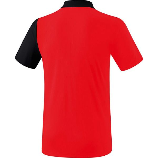 Erima 5-C Polo Kinderen - Rood / Zwart / Wit