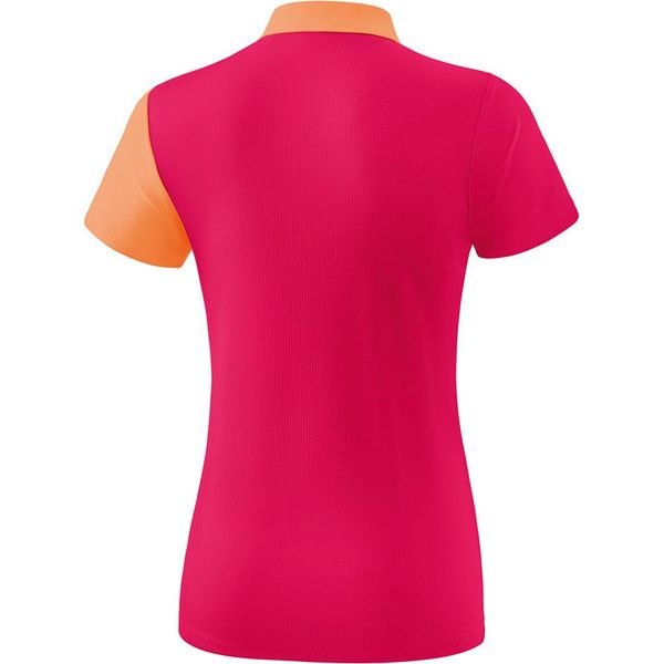 Erima 5-C Polo Dames - Love Rose / Peach / Wit