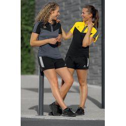 Voorvertoning: Erima Squad Polo Dames - Zwart / Slate Grey