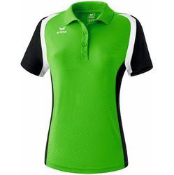 Erima Razor 2.0 Polo Femmes - Green / Noir / Blanc