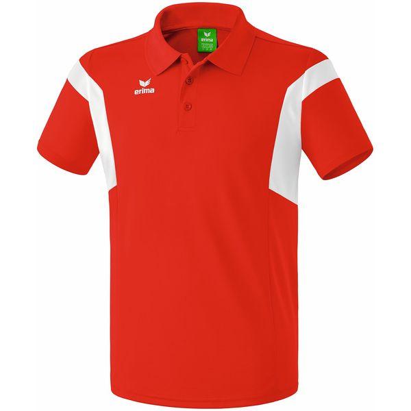 Erima Classic Team Polo Kinderen - Rood / Wit