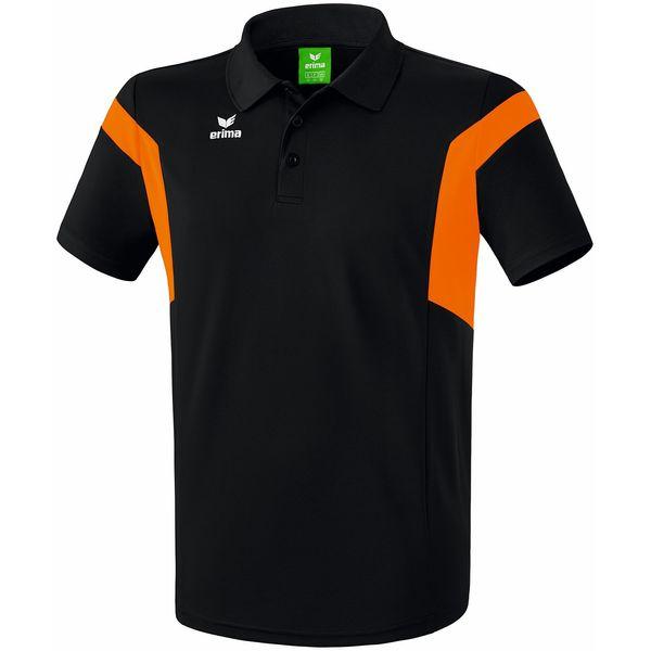 Erima Classic Team Polo Heren - Zwart / Oranje