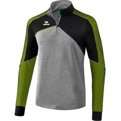 Erima Premium One 2.0 Trainingstop - Grey Melange / Zwart / Lime Pop