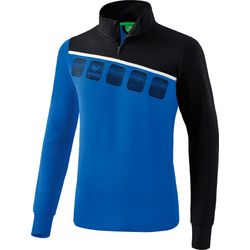 Erima 5-C Trainingstop - New Royal / Zwart / Wit
