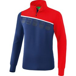 Erima 5-C Trainingstop Heren - New Navy / Rood / Wit