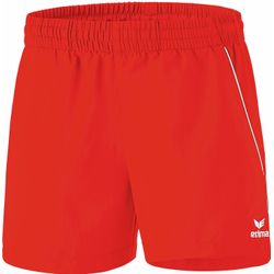 Erima Short De Loisir / Tennis De Table Femmes - Rouge / Blanc