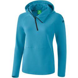 Erima Essential Sweatshirt Met Capuchon Dames - Niagara / Ink Blue