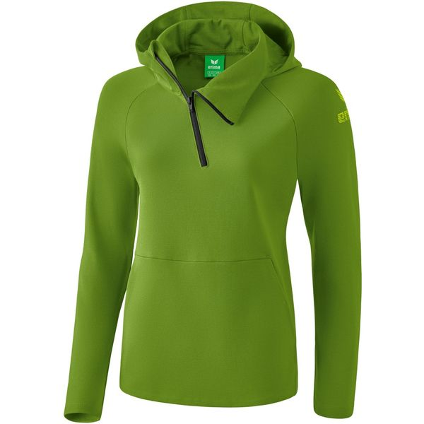 Erima Essential Sweatshirt Met Capuchon Dames - Twist Of Lime / Lime Pop