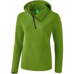 Erima Essential Sweatshirt Met Capuchon Dames - Twist Of Lime / Lime Pop