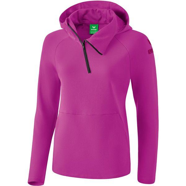 Erima Essential Sweatshirt Met Capuchon Kinderen - Fuchsia / Purple Potion