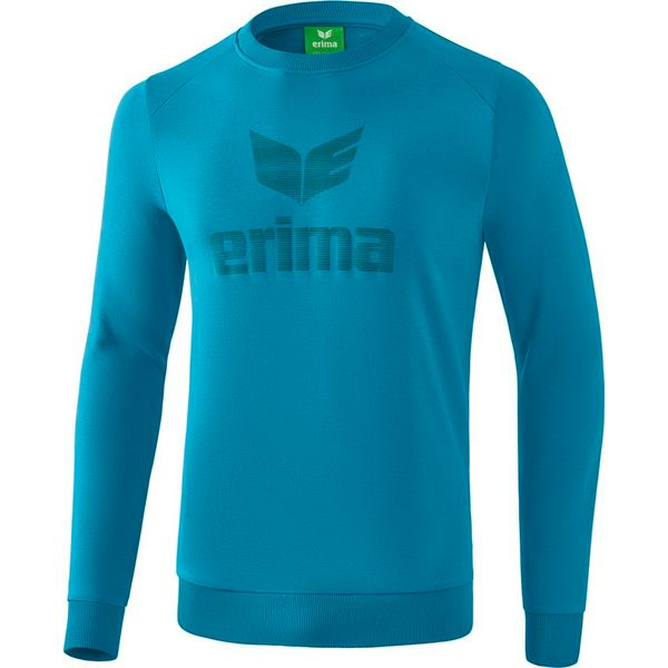Erima Essential Sweatshirt - Oriental Blue / Colonial Blue