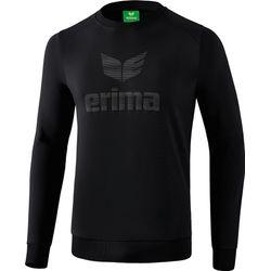 Erima Essential Sweatshirt Heren - Zwart / Grijs
