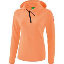 Erima Essential Sweatshirt Met Capuchon Dames - Peach / Love Rose