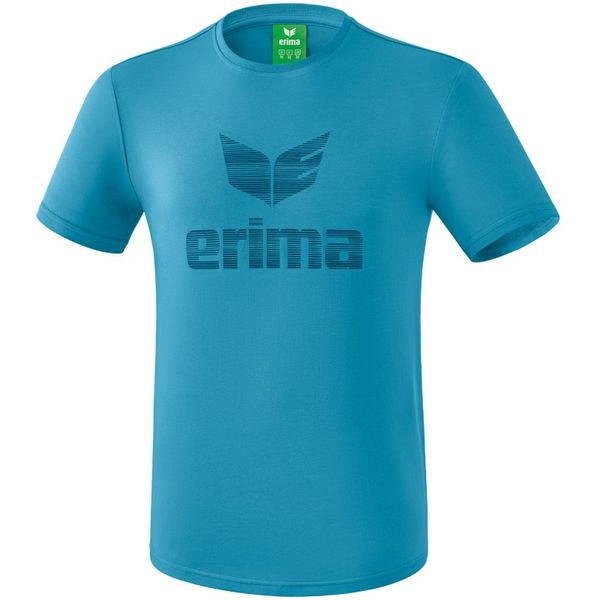 Erima Essential T-Shirt Heren - Niagara / Ink Blue