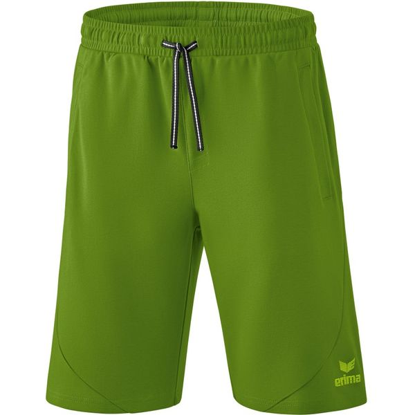 Erima Essential Sweatshort Heren - Twist Of Lime / Lime Pop
