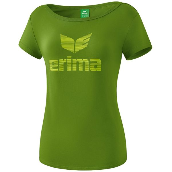 Erima Essential T-Shirt Dames - Twist Of Lime / Lime Pop
