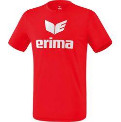 Erima Functioneel Promo T-Shirt Heren - Rood