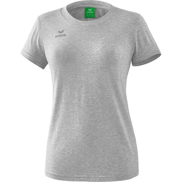 Erima Style T-Shirt Dames - Licht Grey Melange