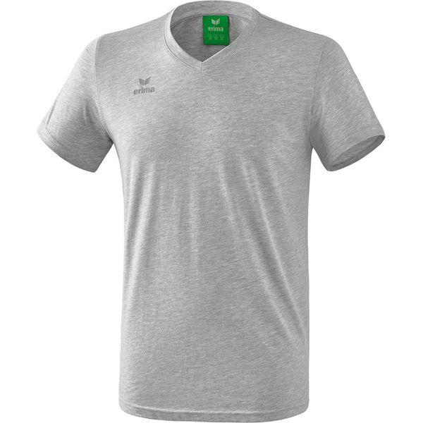 Erima Style T-Shirt Kinderen - Licht Grey Melange