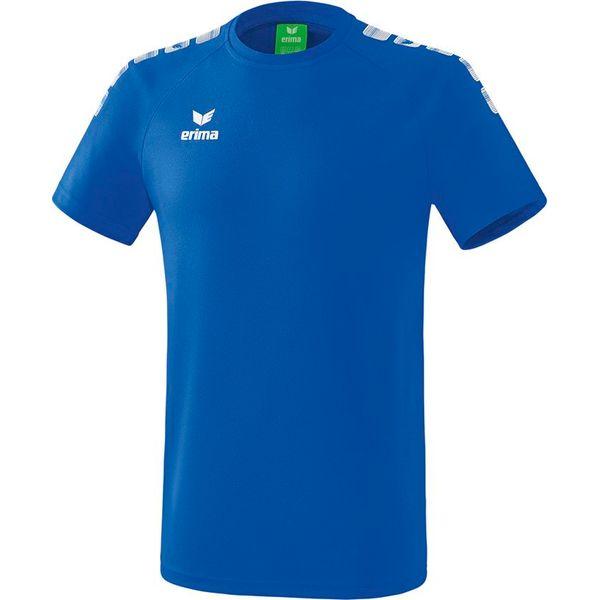 Erima Essential 5-C T-Shirt Kinderen - New Royal / Wit
