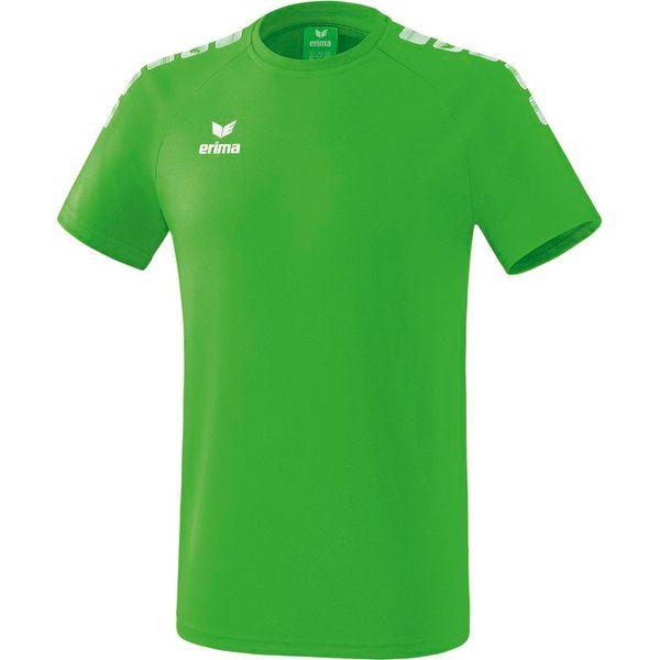 Erima Essential 5-C T-Shirt - Green / Wit