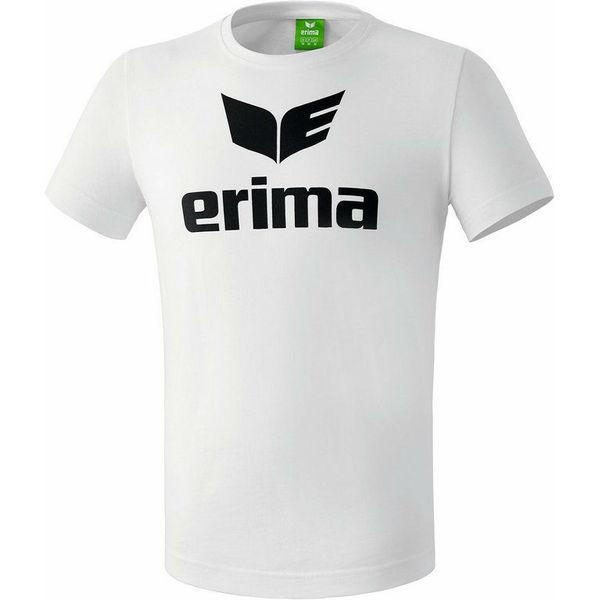 Erima Promo T-Shirt Heren - Wit / Zwart