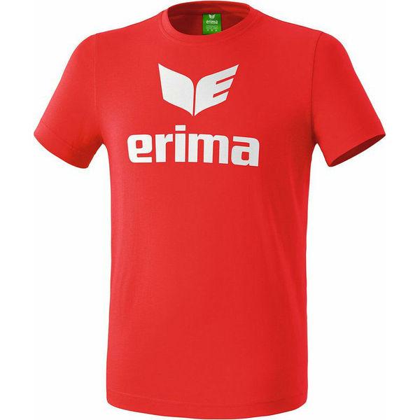 Erima Promo T-Shirt Kinderen - Rood / Wit