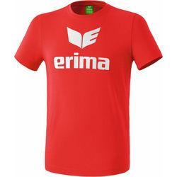 Erima Promo T-Shirt Enfants - Rouge / Blanc