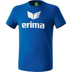 Erima Promo T-Shirt Enfants - Royal / Blanc
