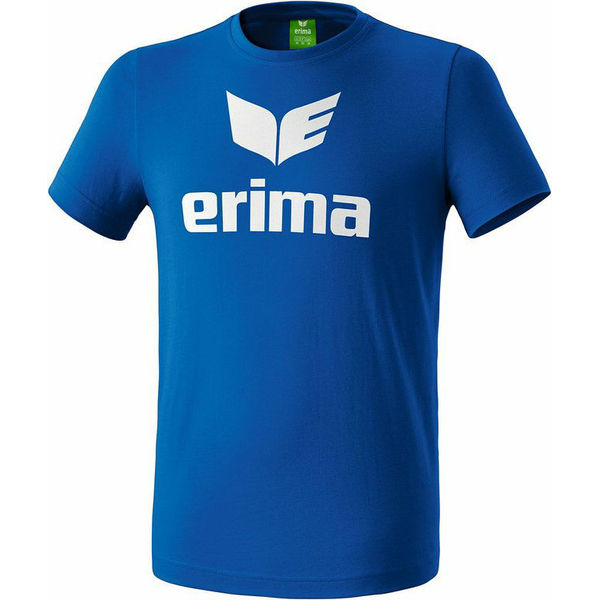 Erima Promo T-Shirt Heren - Royal / Wit